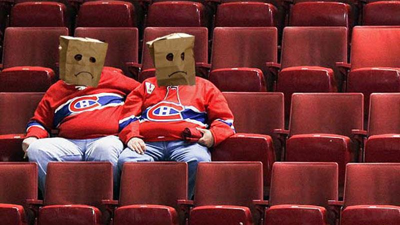 Contrairement aux partisans du Canadiens ceux de la LFA peuvent espérer un plus beau printemps