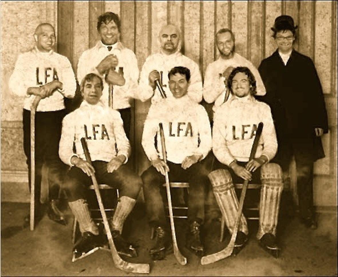 Membres fondateurs de la ligue