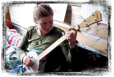 Robin Child, Backcountry Banjo Diva