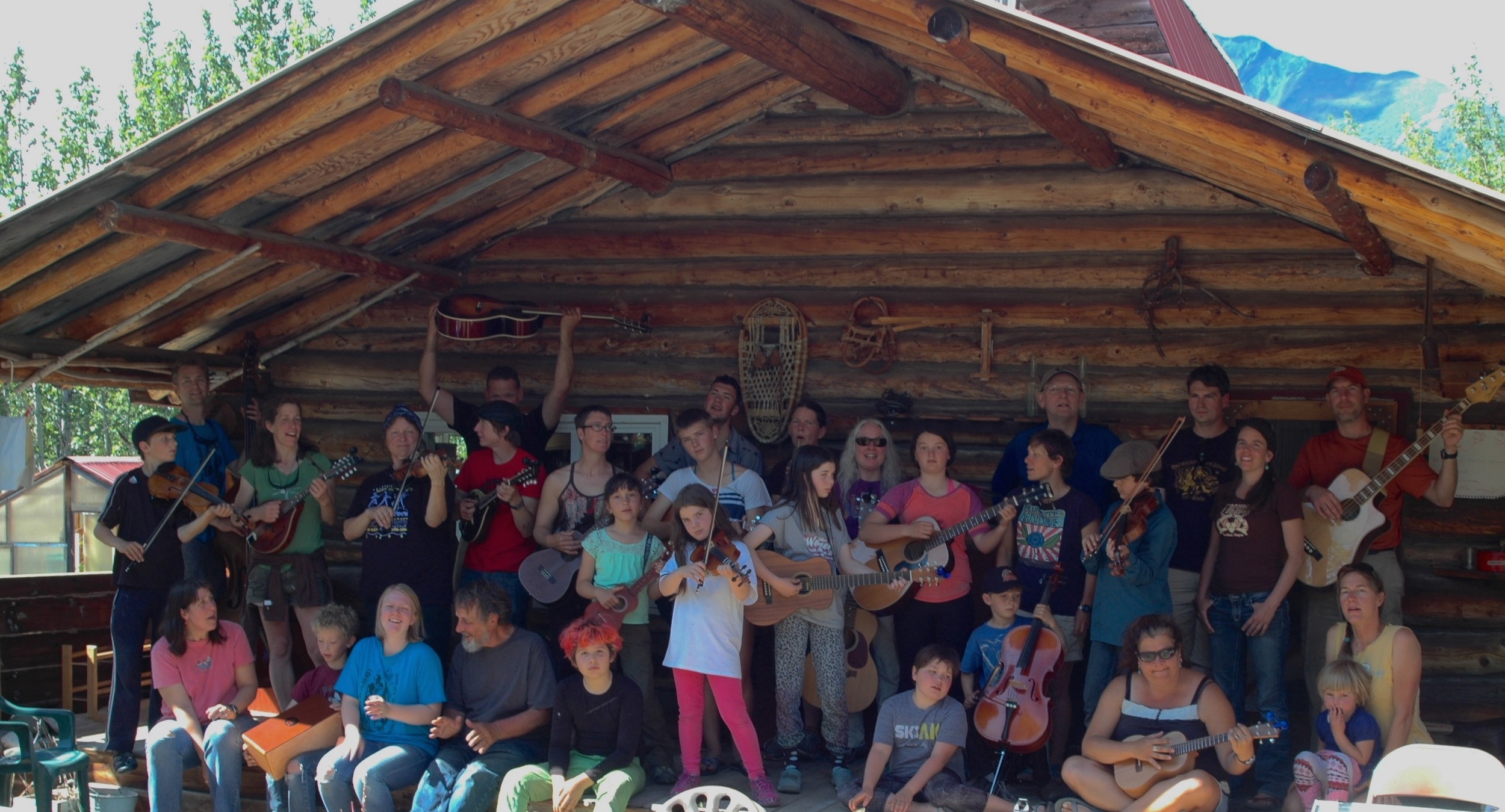 Final performance at the 2015 Family Music Camp. Photo by Addy Wright
