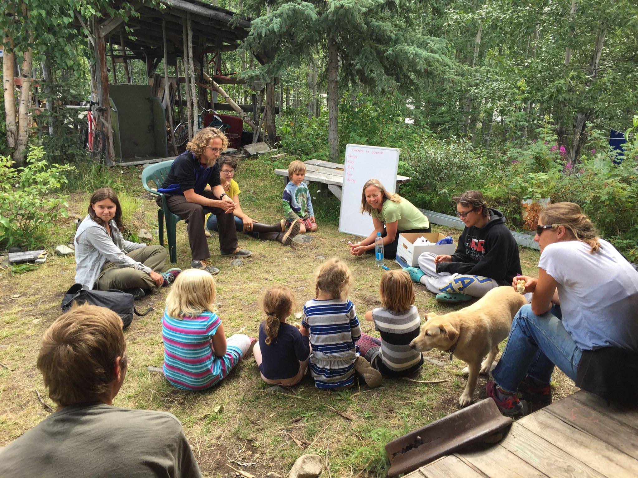 Mountain Science for Youth with Cynthia Shidner - Photo: Lara Applebaum