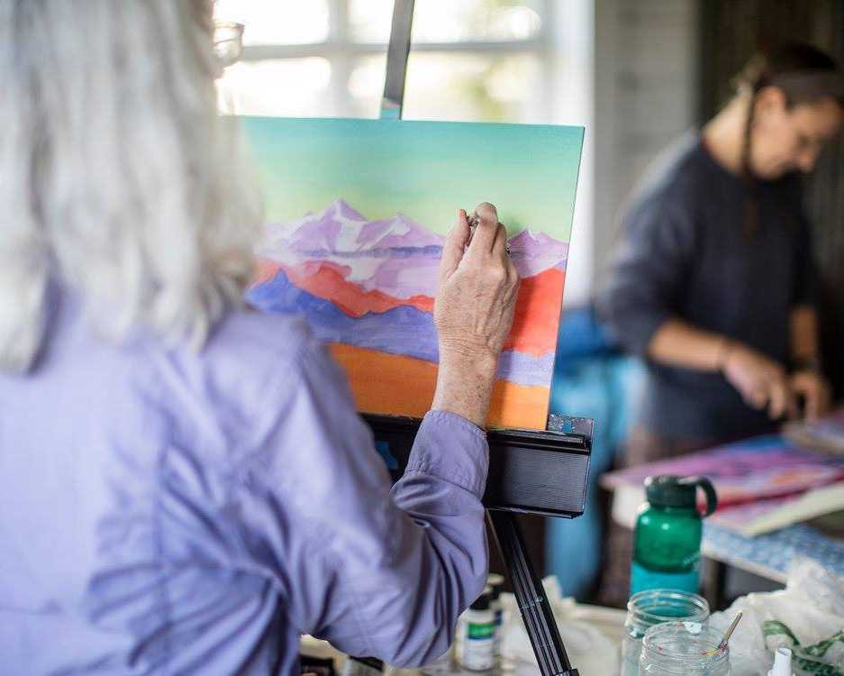 The Wrangells are an inspiring landscape for artists and scientists alike