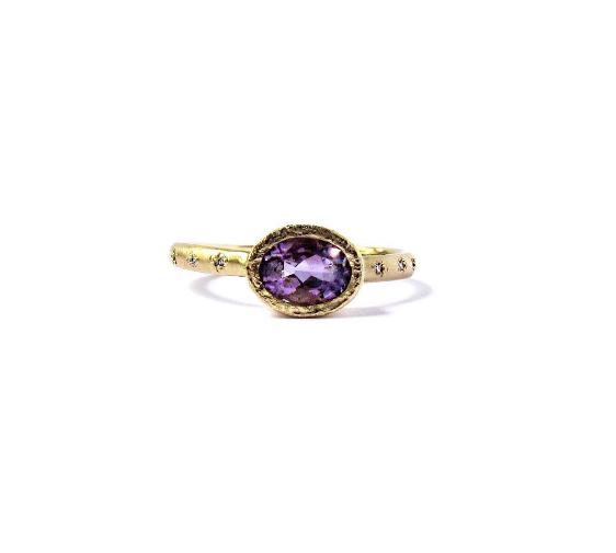 18k Gold Engagement or Celebration Ring