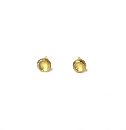 18k gold studs