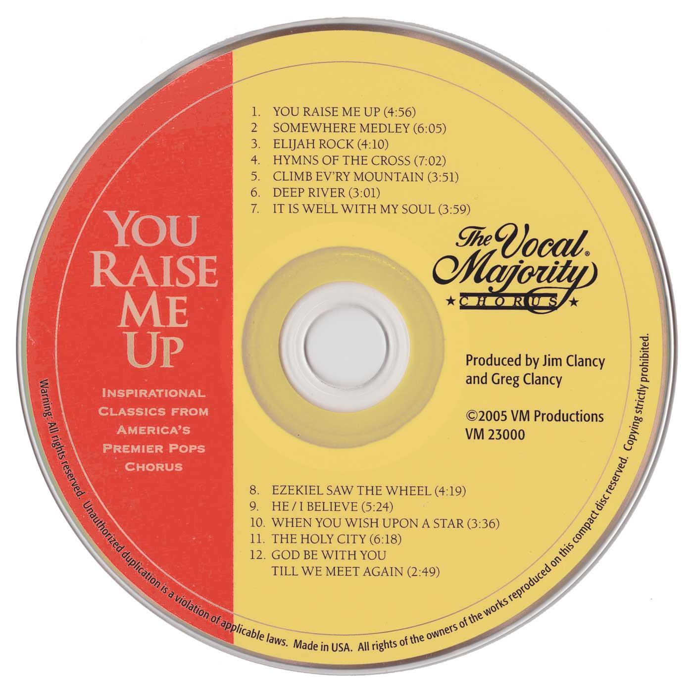 Disc Art: You Raise Me Up