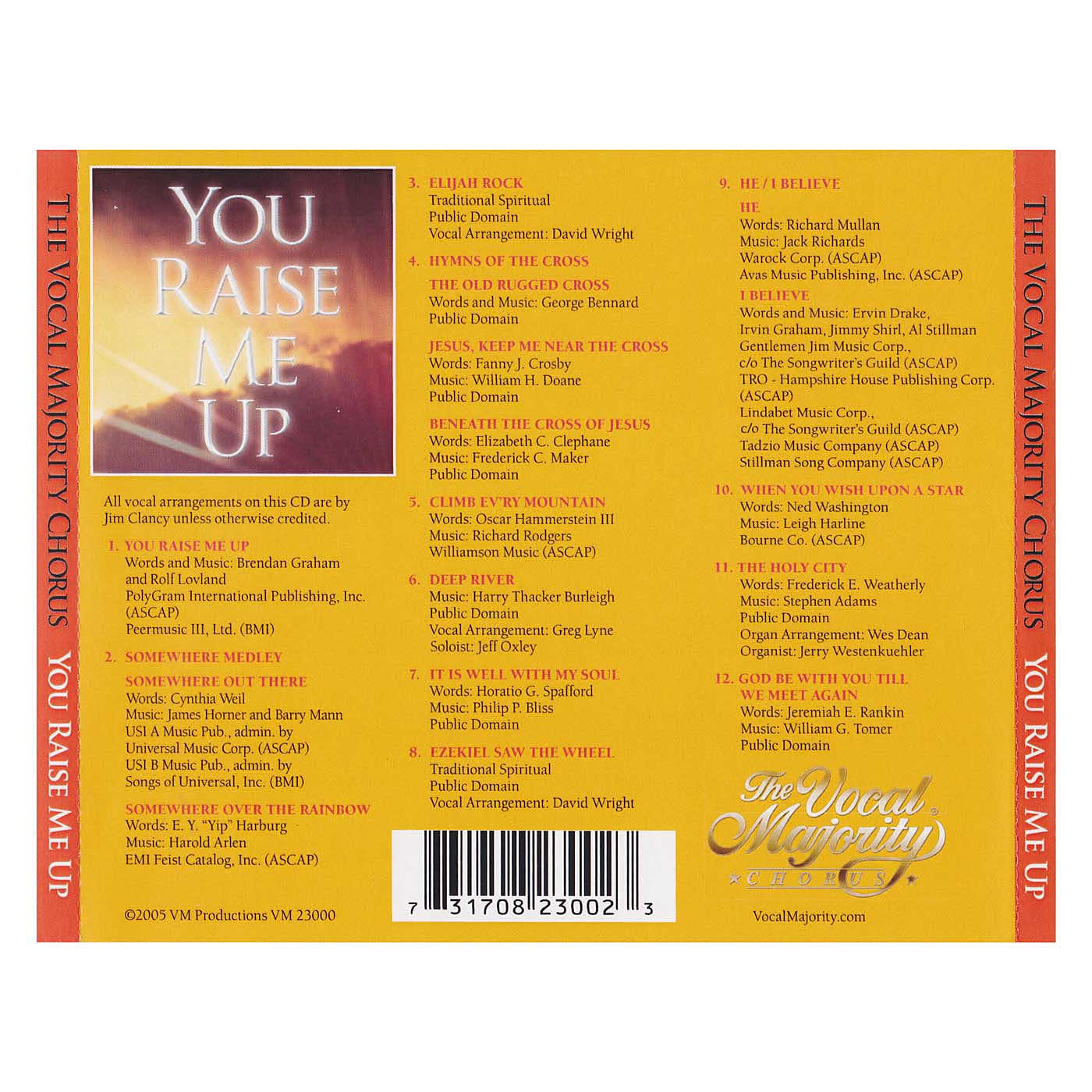 Tray Card: You Raise Me Up