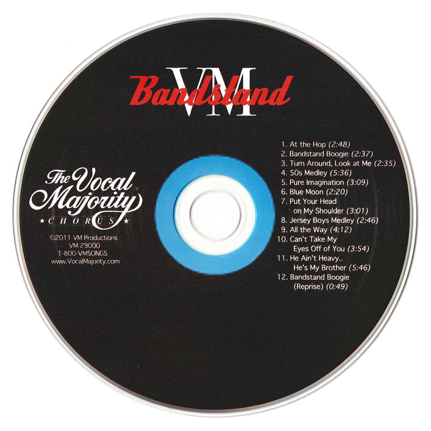 Disc Art: VM Bandstand