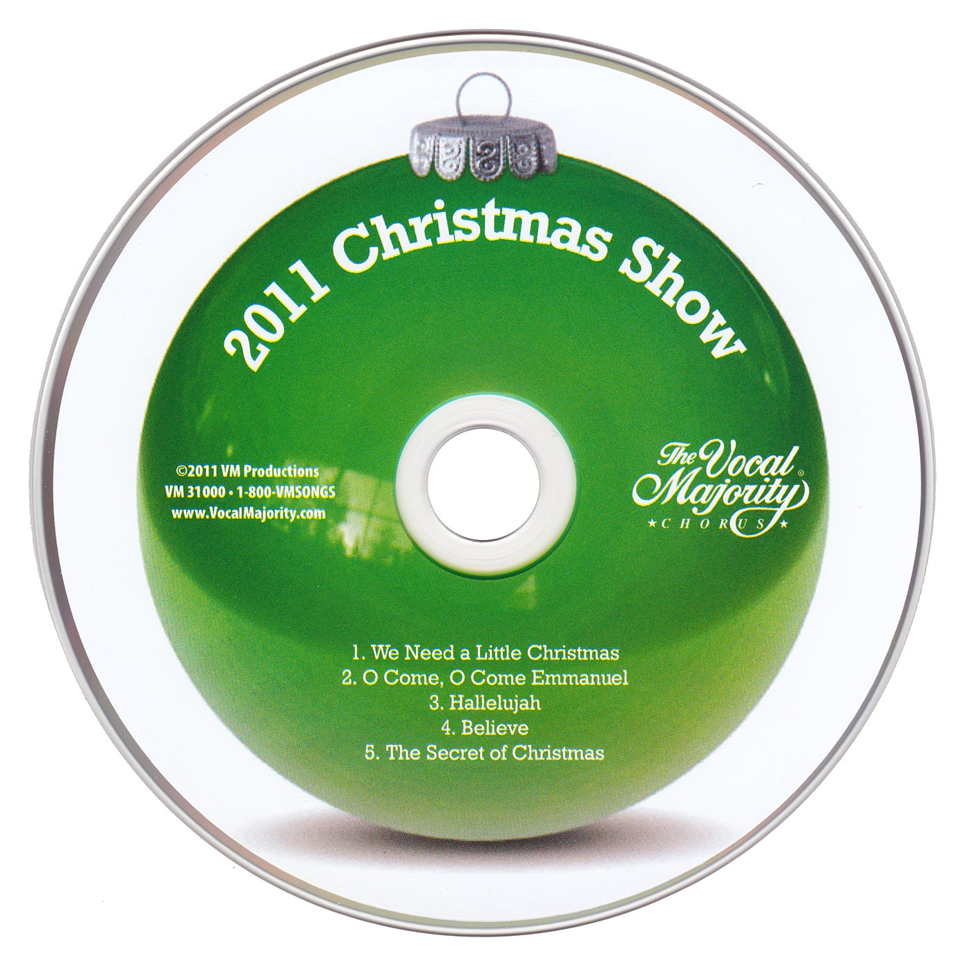 Disc Art: 2011 Christmas Show