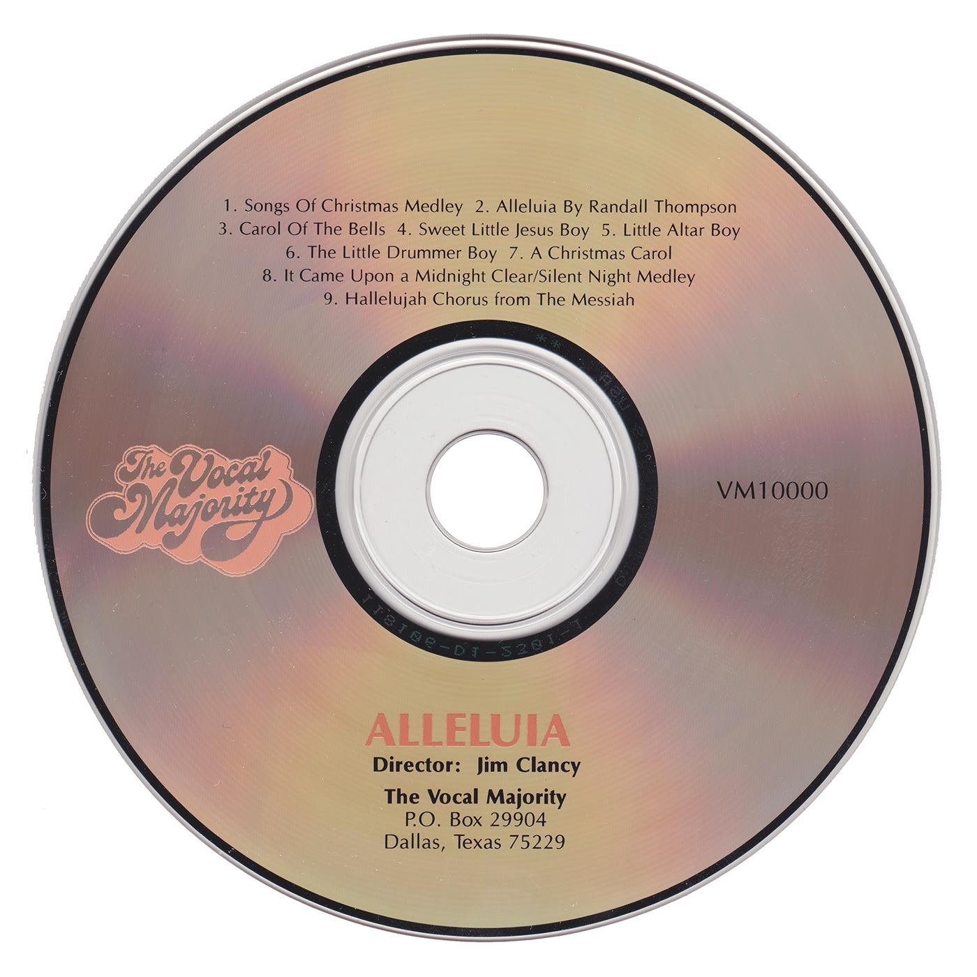 Disc Art: Alleluia