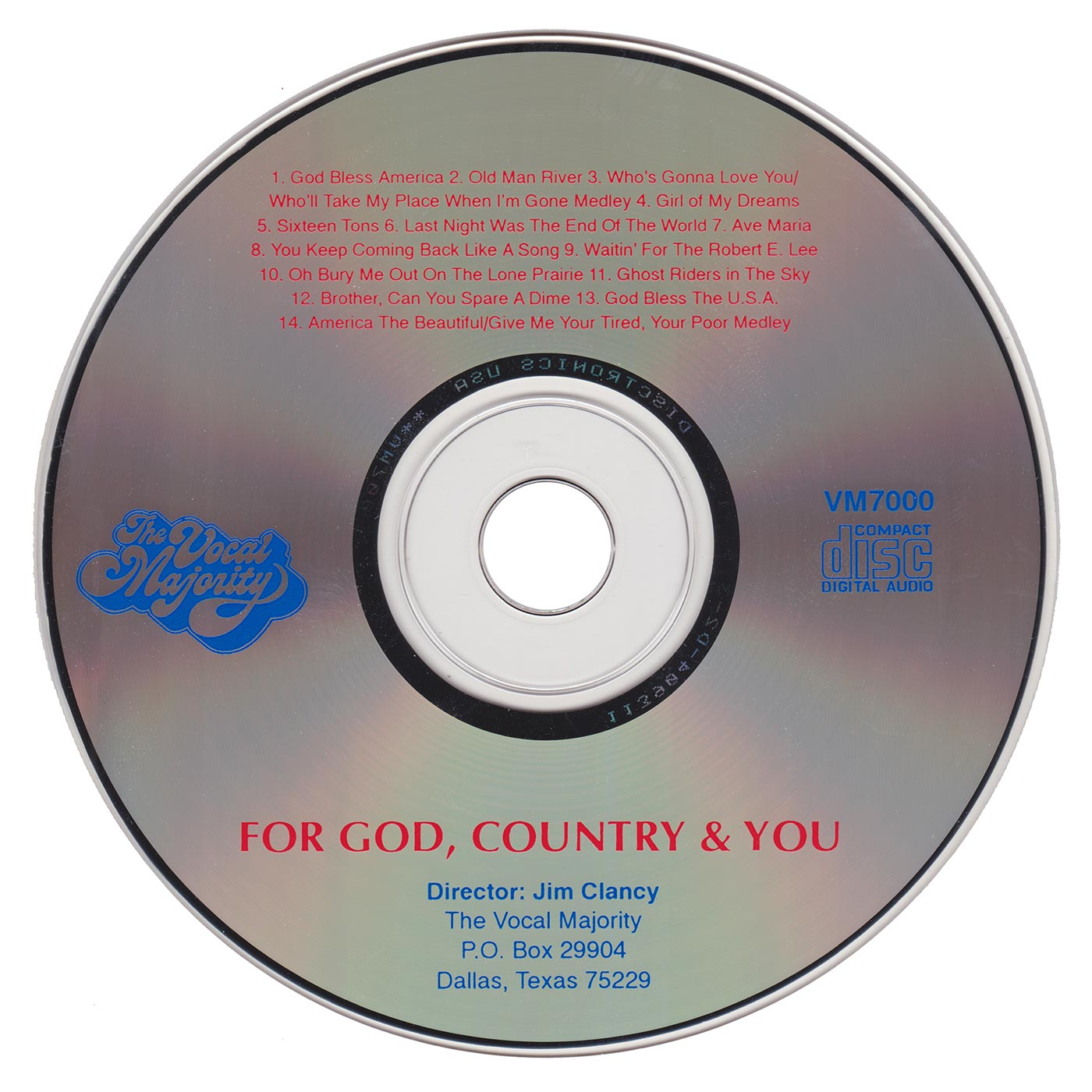 Disc Art: For God, Country, and You