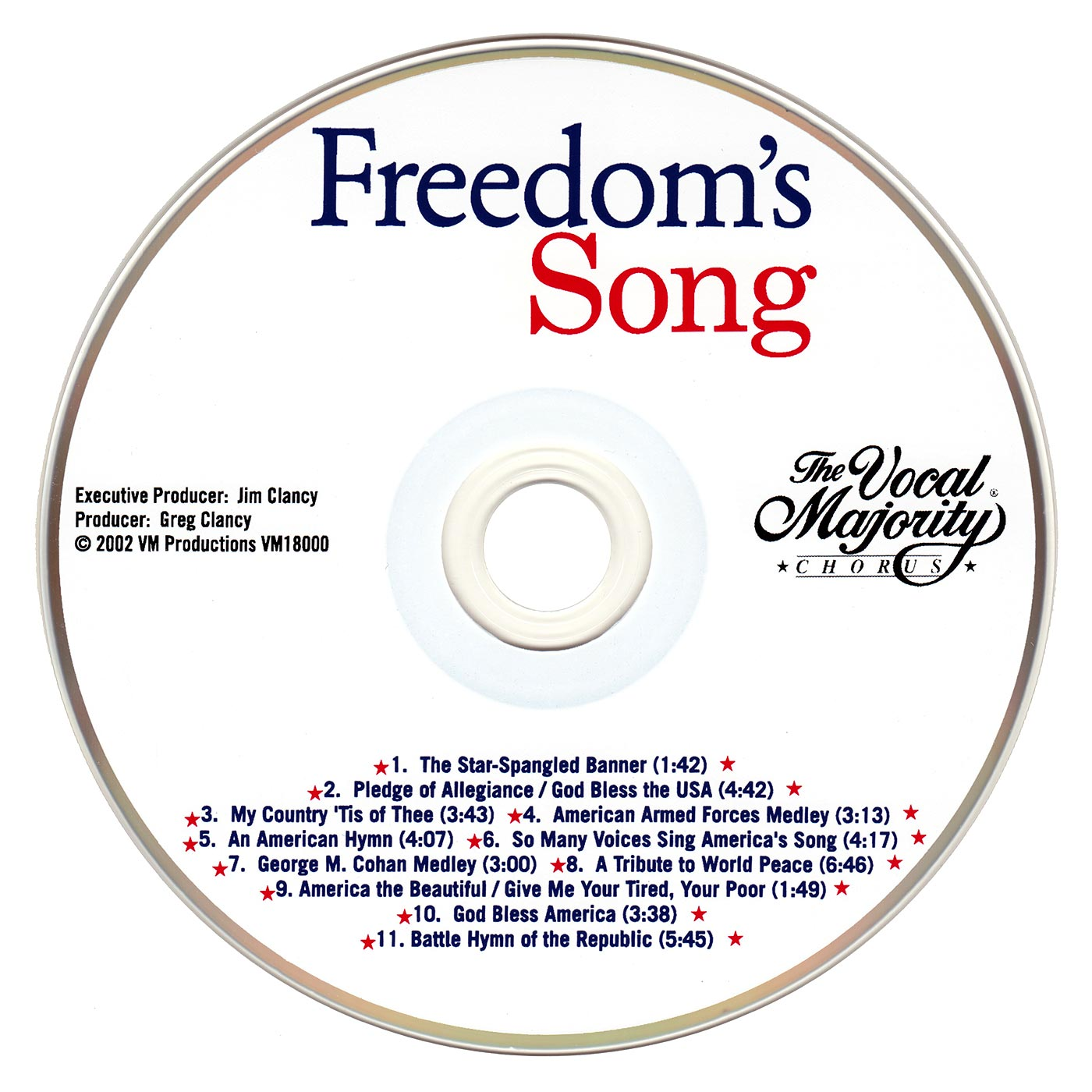 Disc Art: Freedom's Song