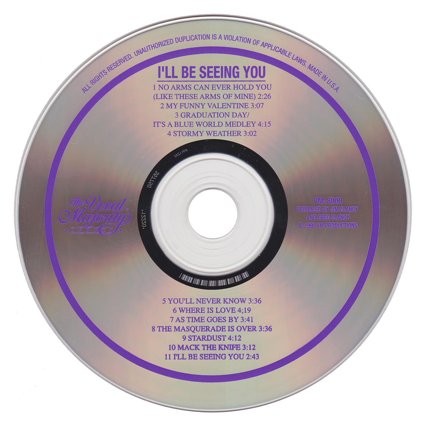 Disc Art: I'll Be Seeing You