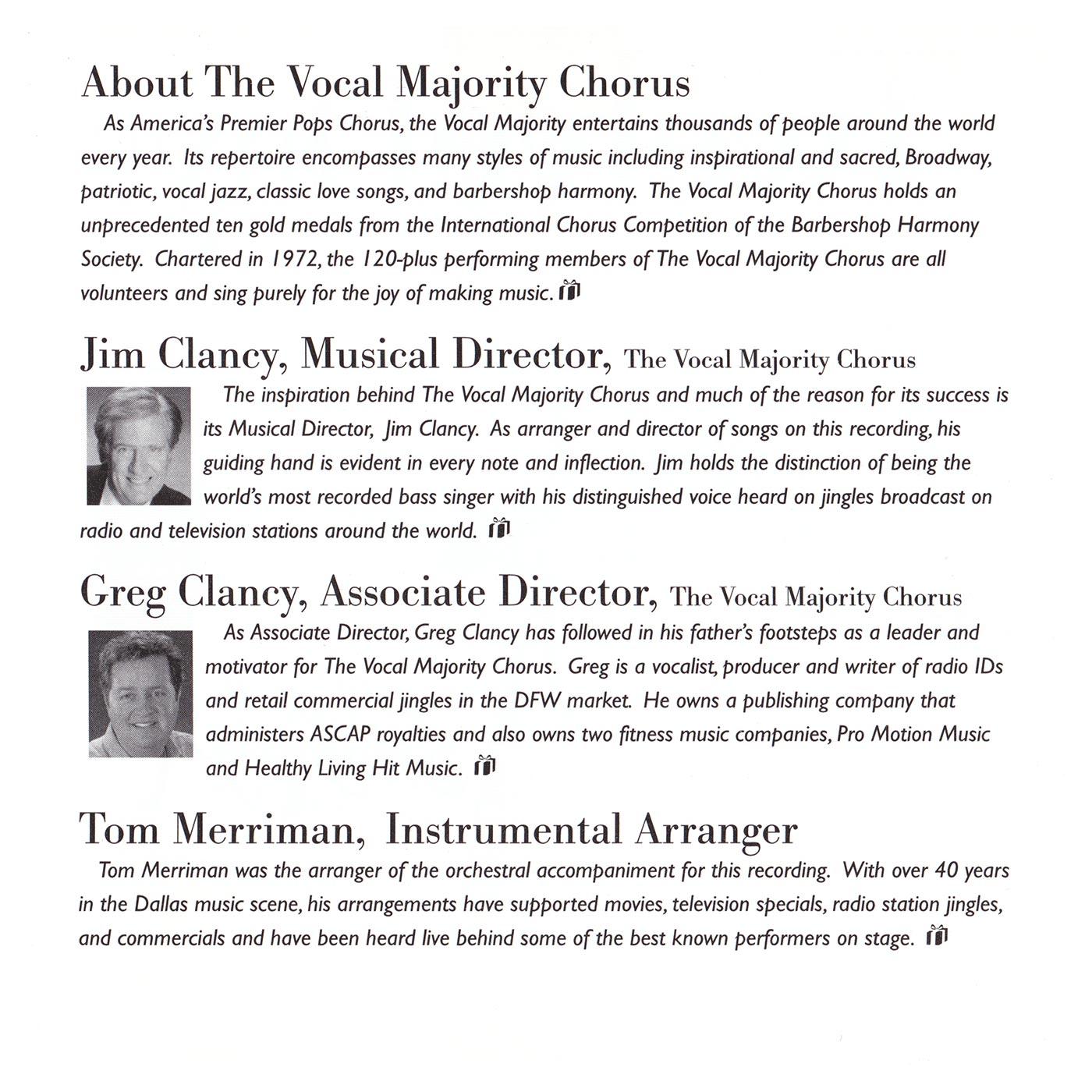 Booklet Inside Left Panel: Twelve Days of Christmas
