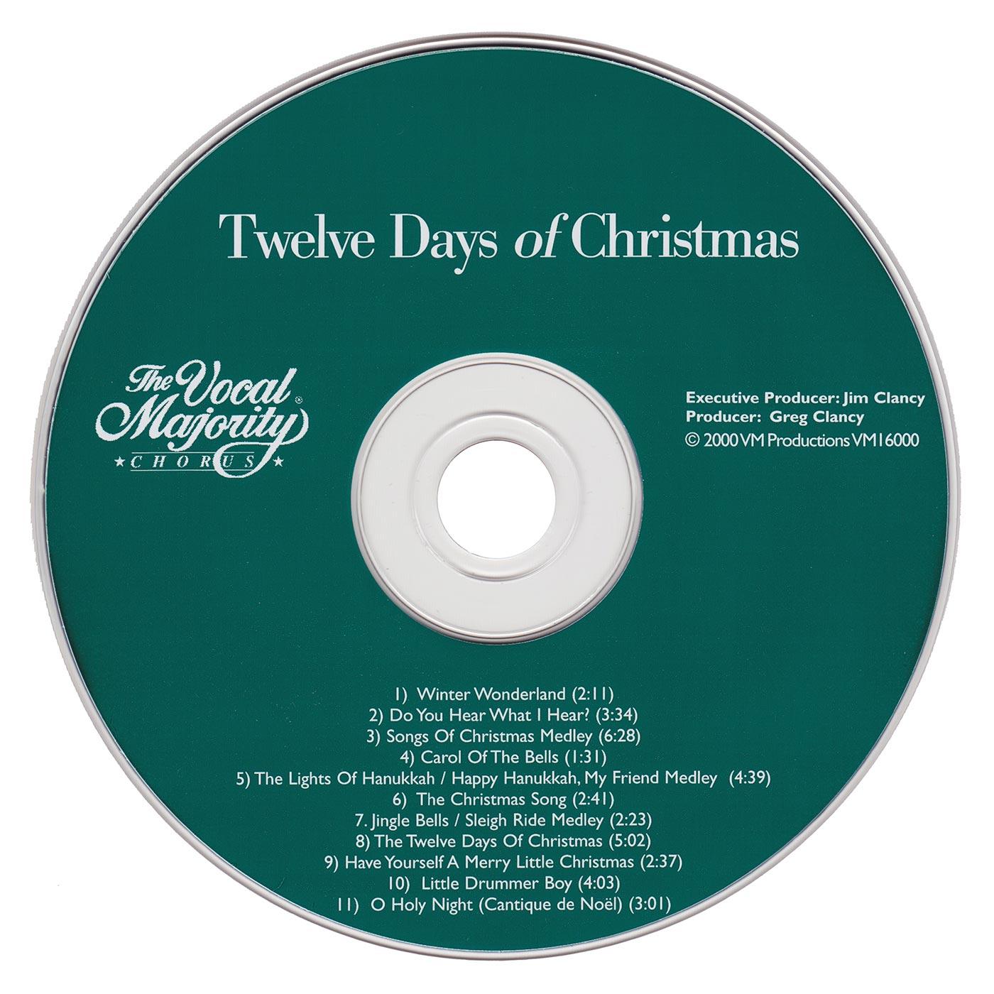 Disc Art: Twelve Days of Christmas