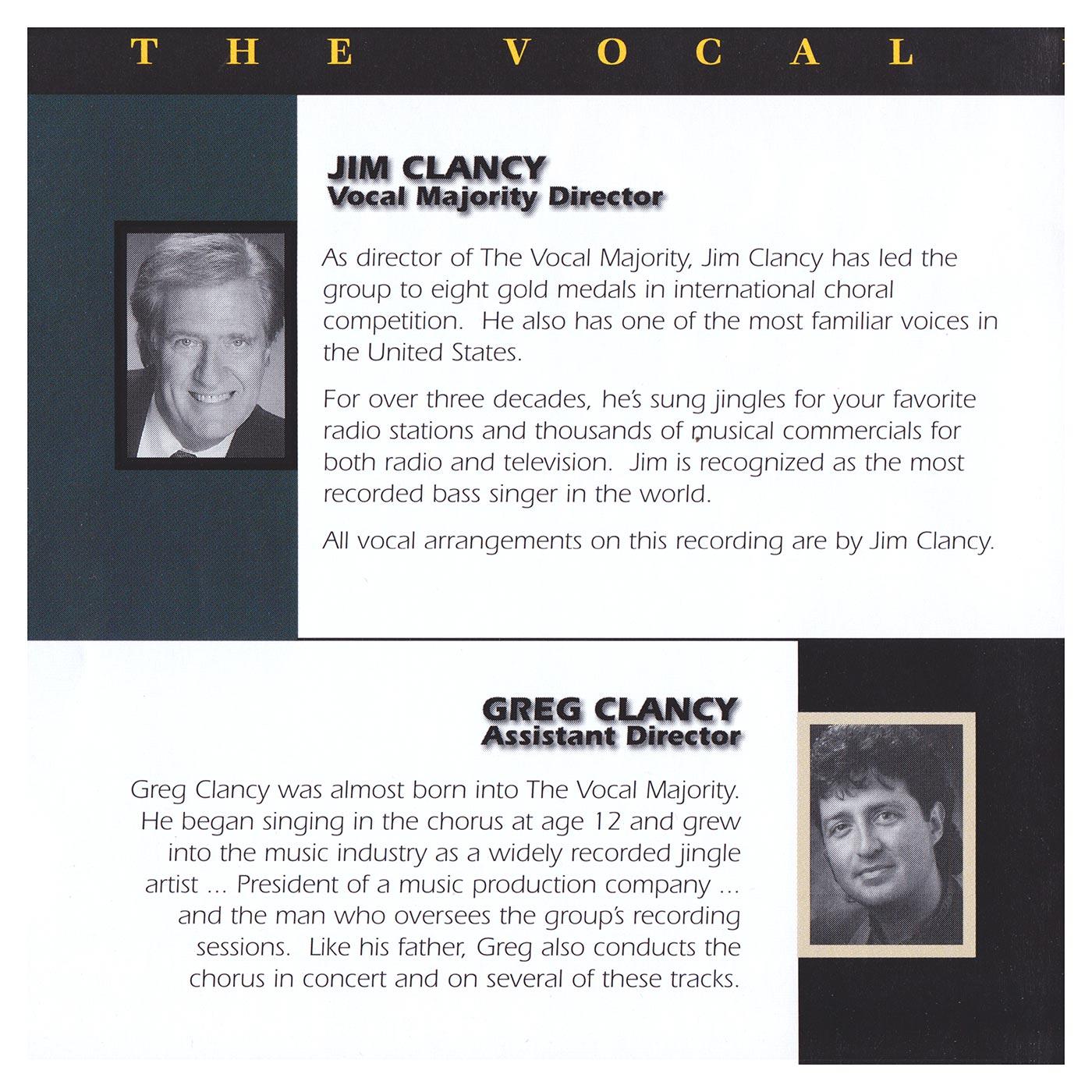 Booklet Inside Left Panel: VM with Strings Vol. 1