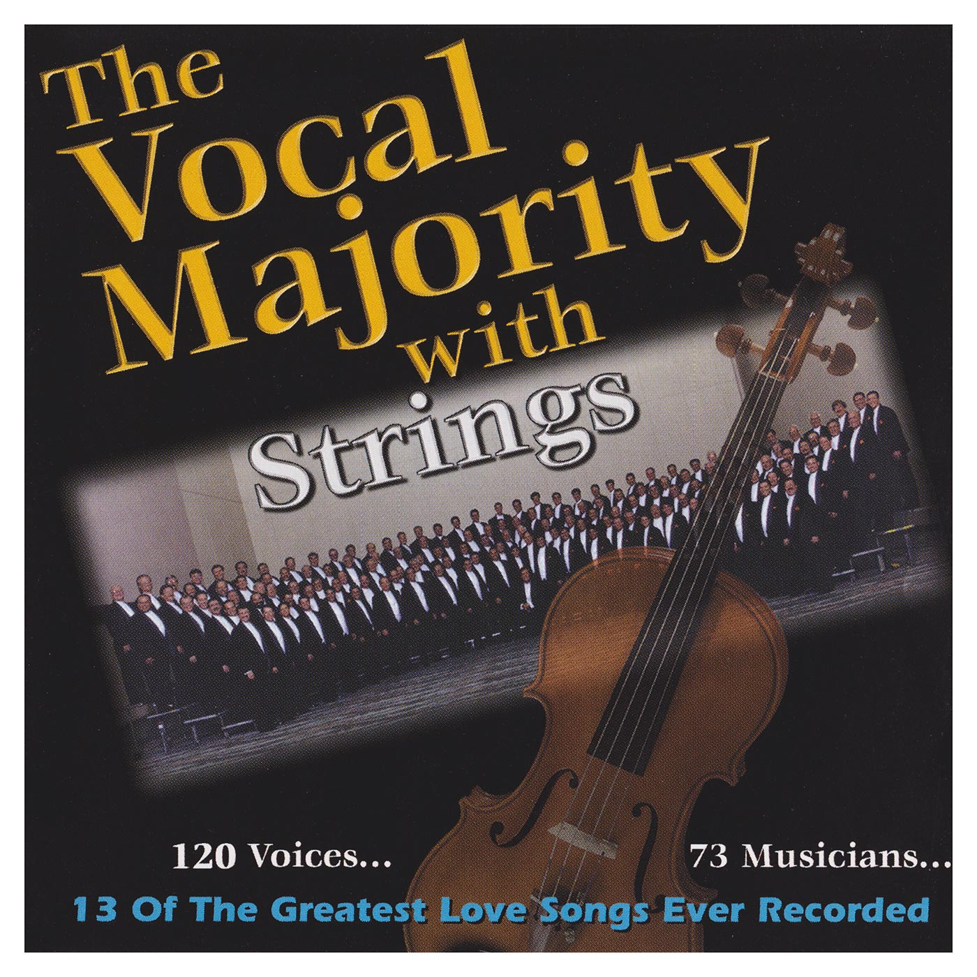 Booklet Front Cover: VM with Strings Vol. 1