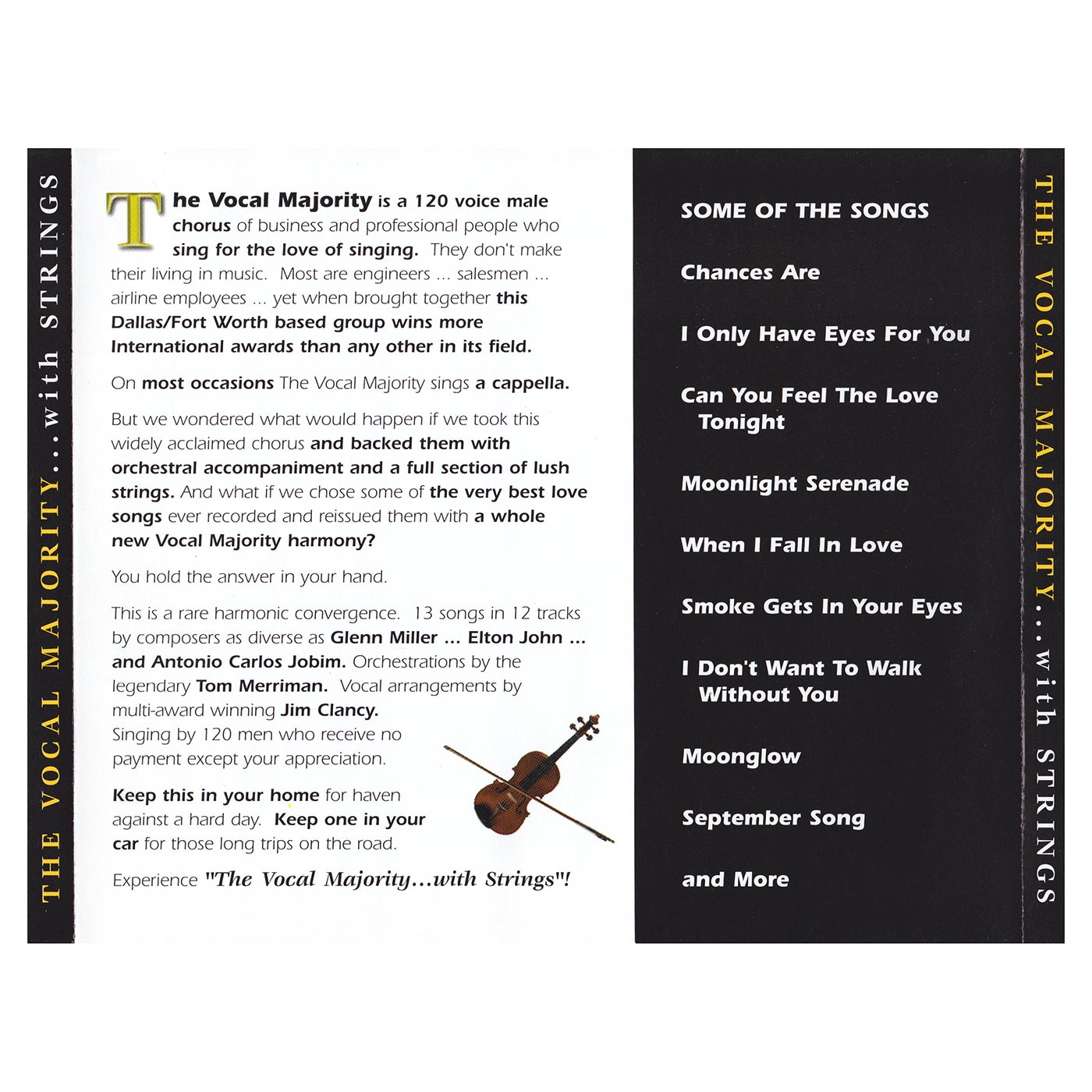 Tray Card: VM with Strings Vol. 1