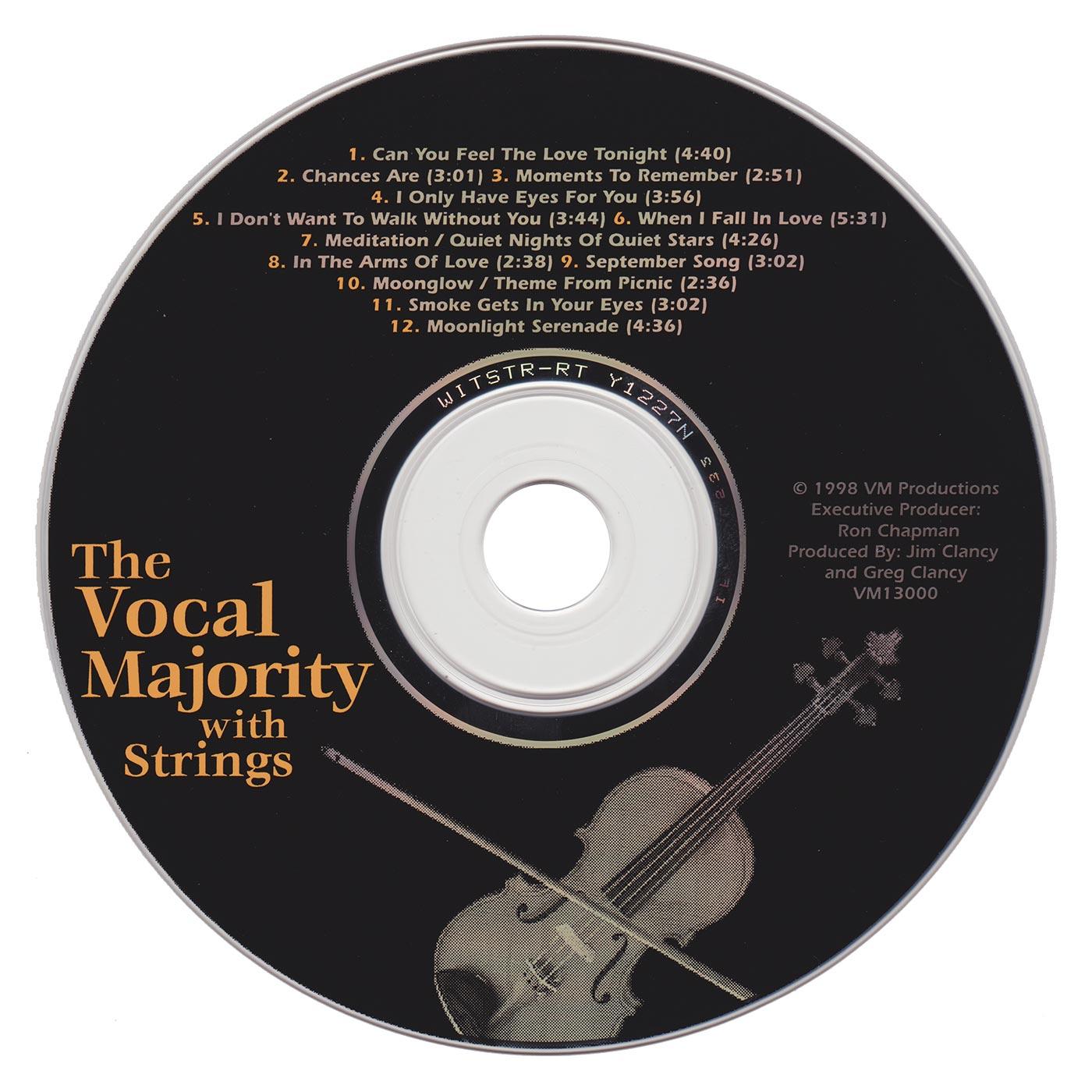 Disc Art: VM with Strings Vol. 1