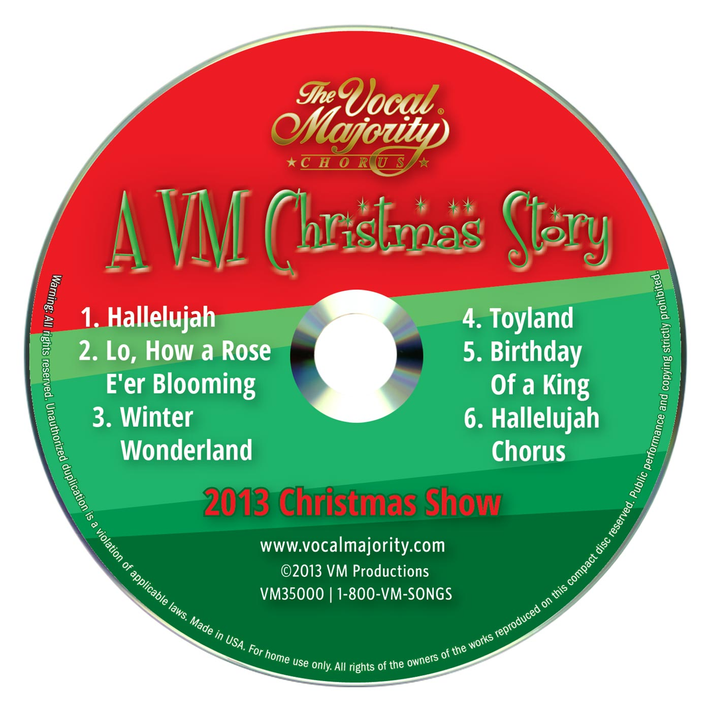 Disc Art: A Christmas Story