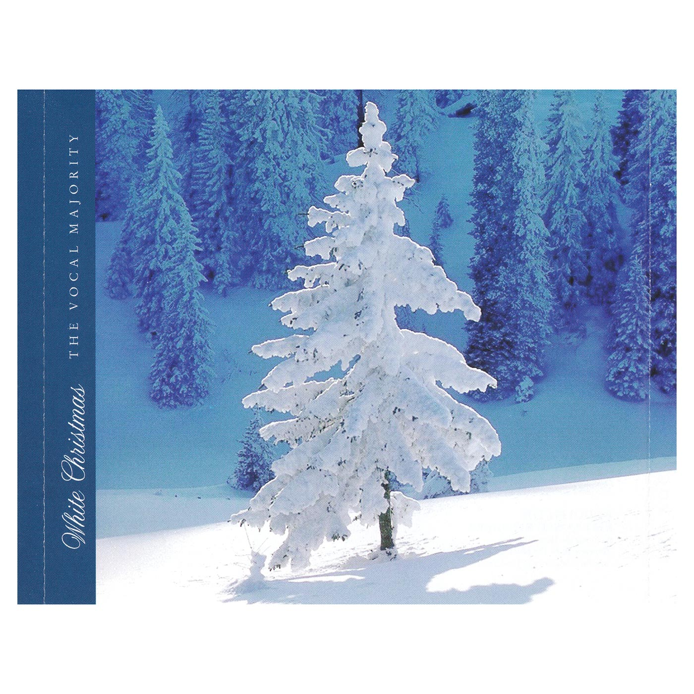 Tray Card Inside: White Christmas
