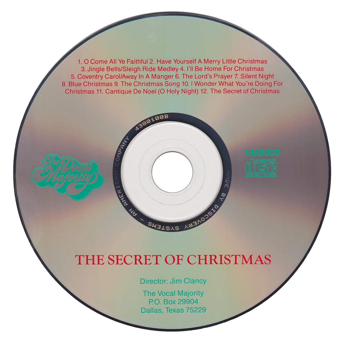 Disc Art: The Secret of Christmas