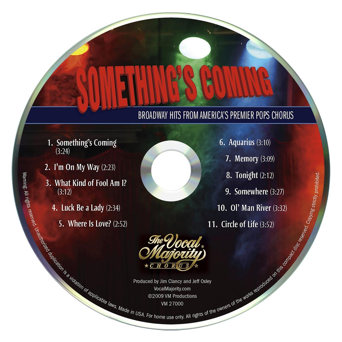 Disc Art: Something's Coming