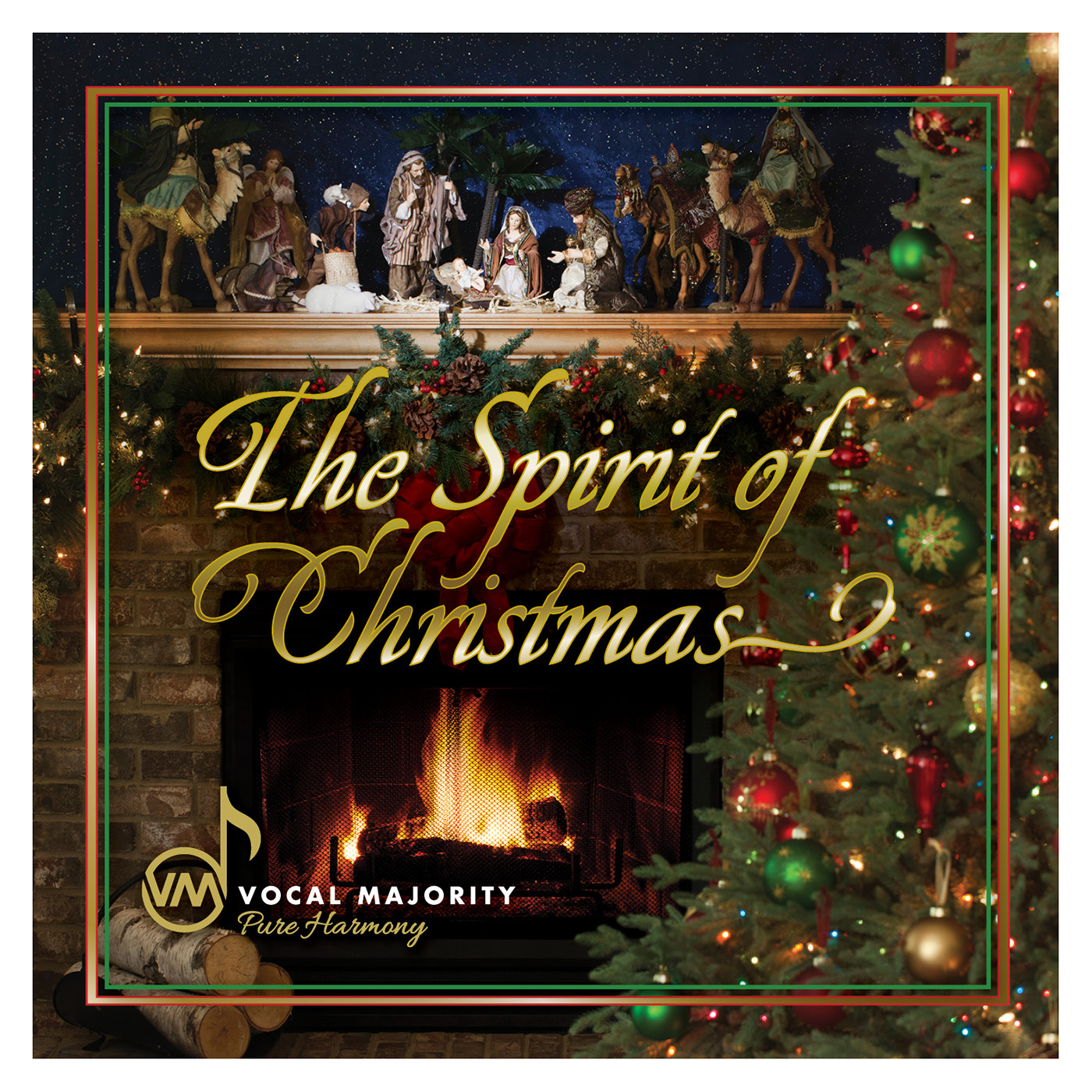 Booklet Front Cover: The Spirit of Christmas