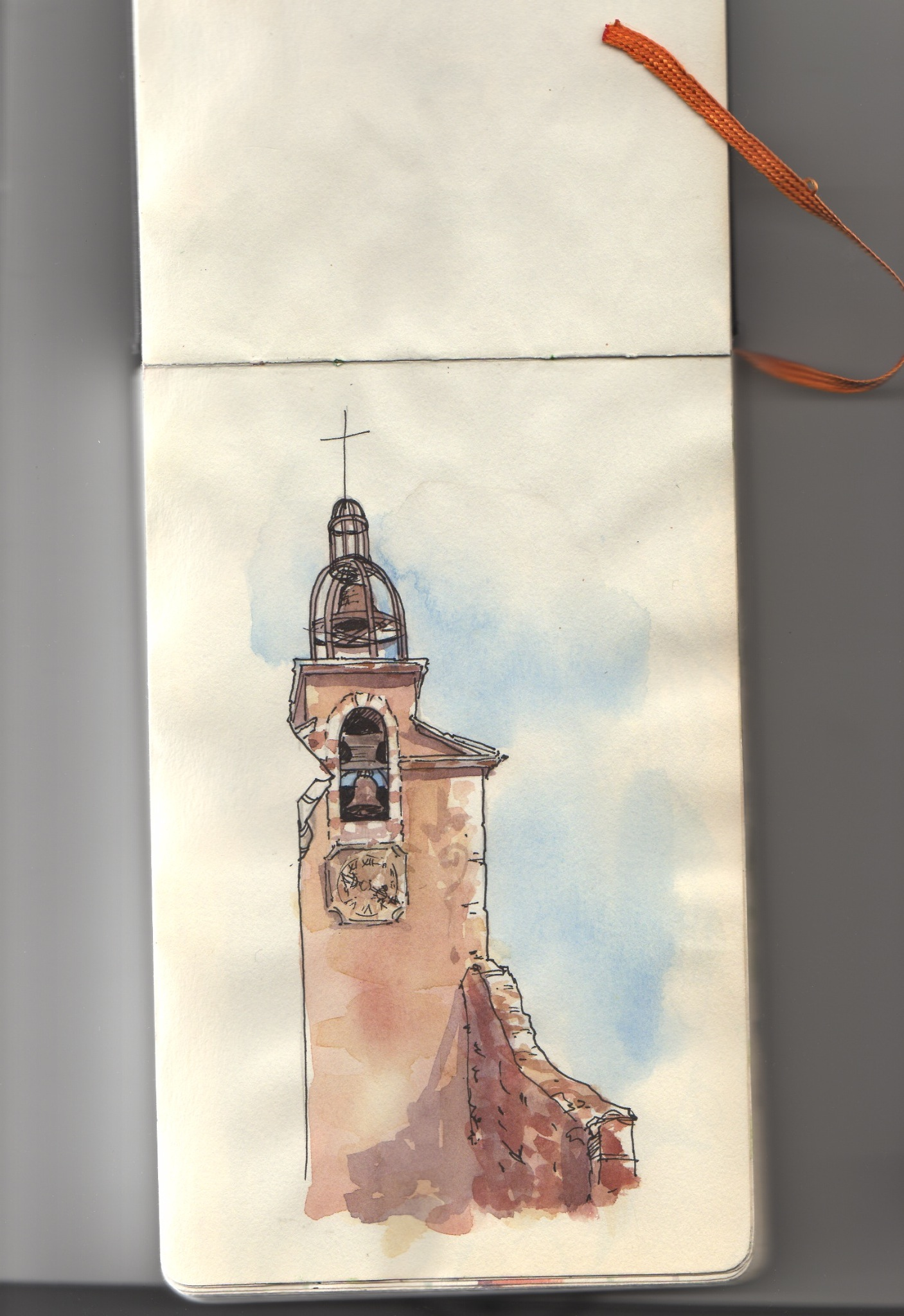 Roussillon Clock Tower,  1