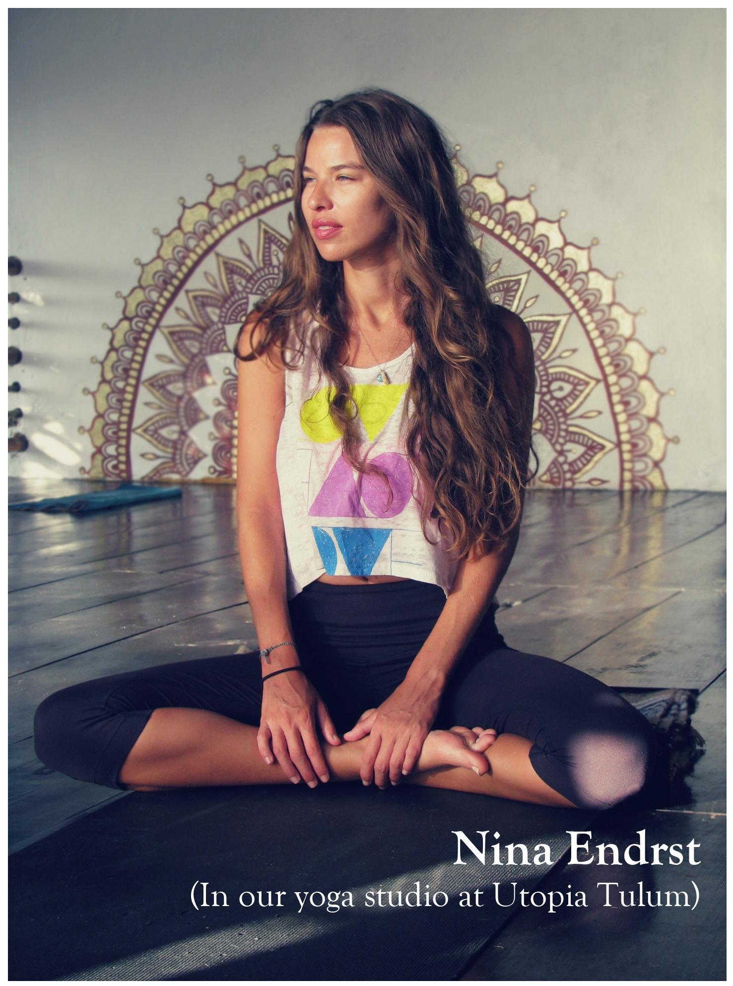 Nina Endrst, Yoga Instructor