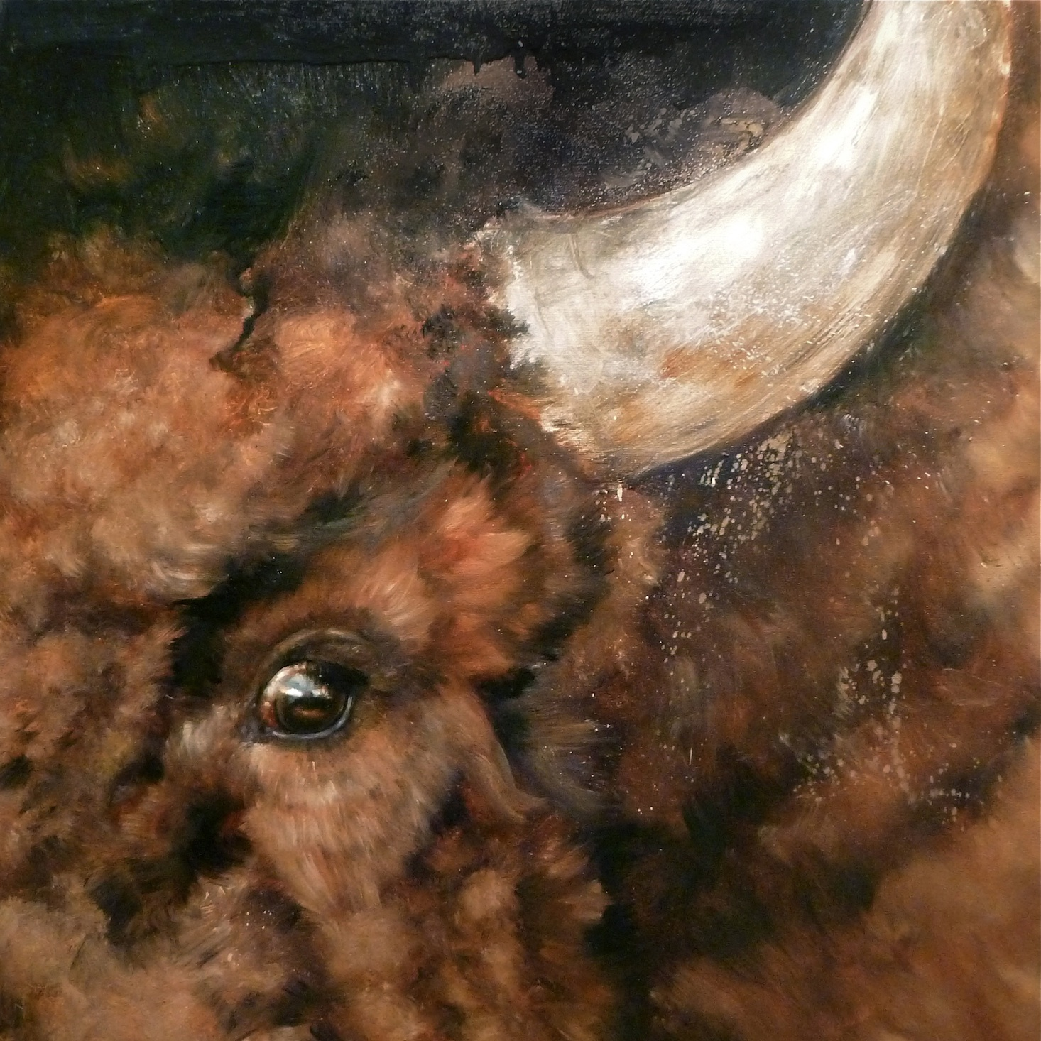 Alarm (oil on canvas)