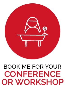 Book me for you conference or workshop