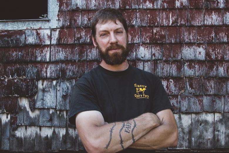 Brad Santy of Santy's Dairy Farm Skowhegan, ME