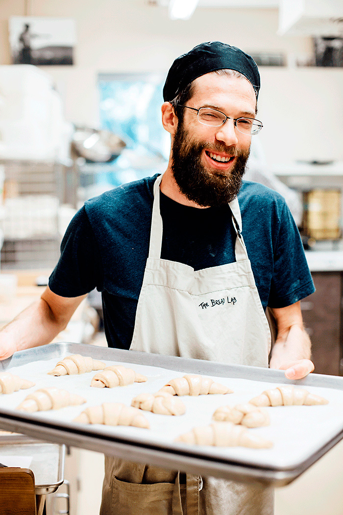 Jonathan Bethony, the resident baker at Bread Lab.