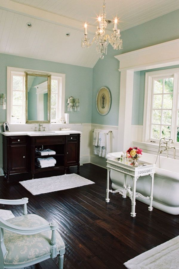 House of Turquoise Bathroom