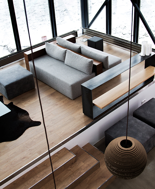 Living Space from  Boutique Homes