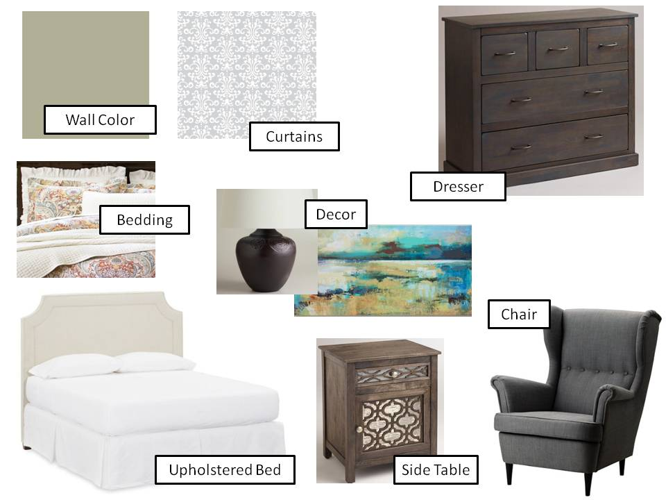In-laws guest room design board (1)