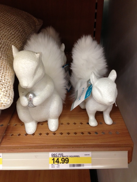 Threshold Squirrel Figural with Acorn