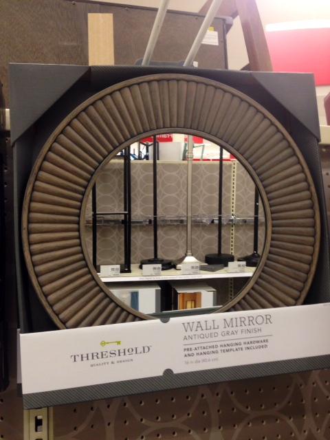 Circle Burst Mirror, $30