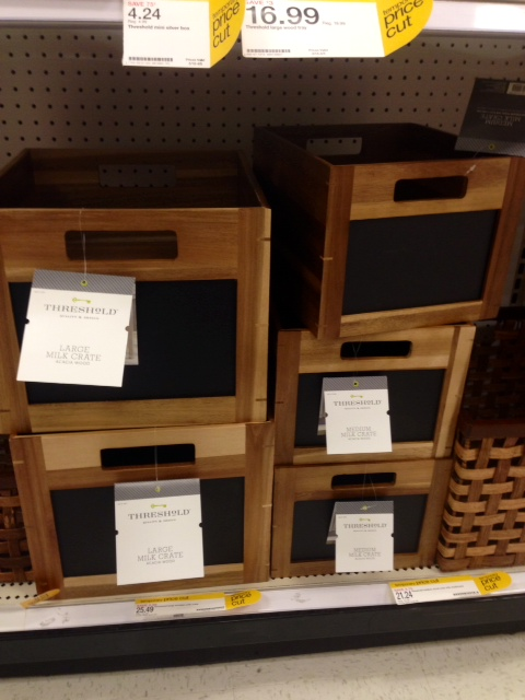 Milk Crates with Chalkboard, $21.24 - 25.49