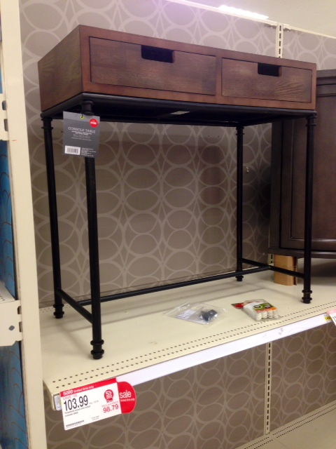 Wooden Console Table, $103.99