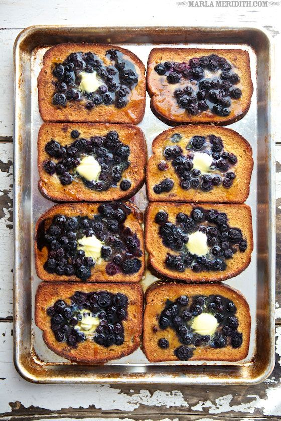 Baked Blueberry French Toast from  Family Friendly Cooking