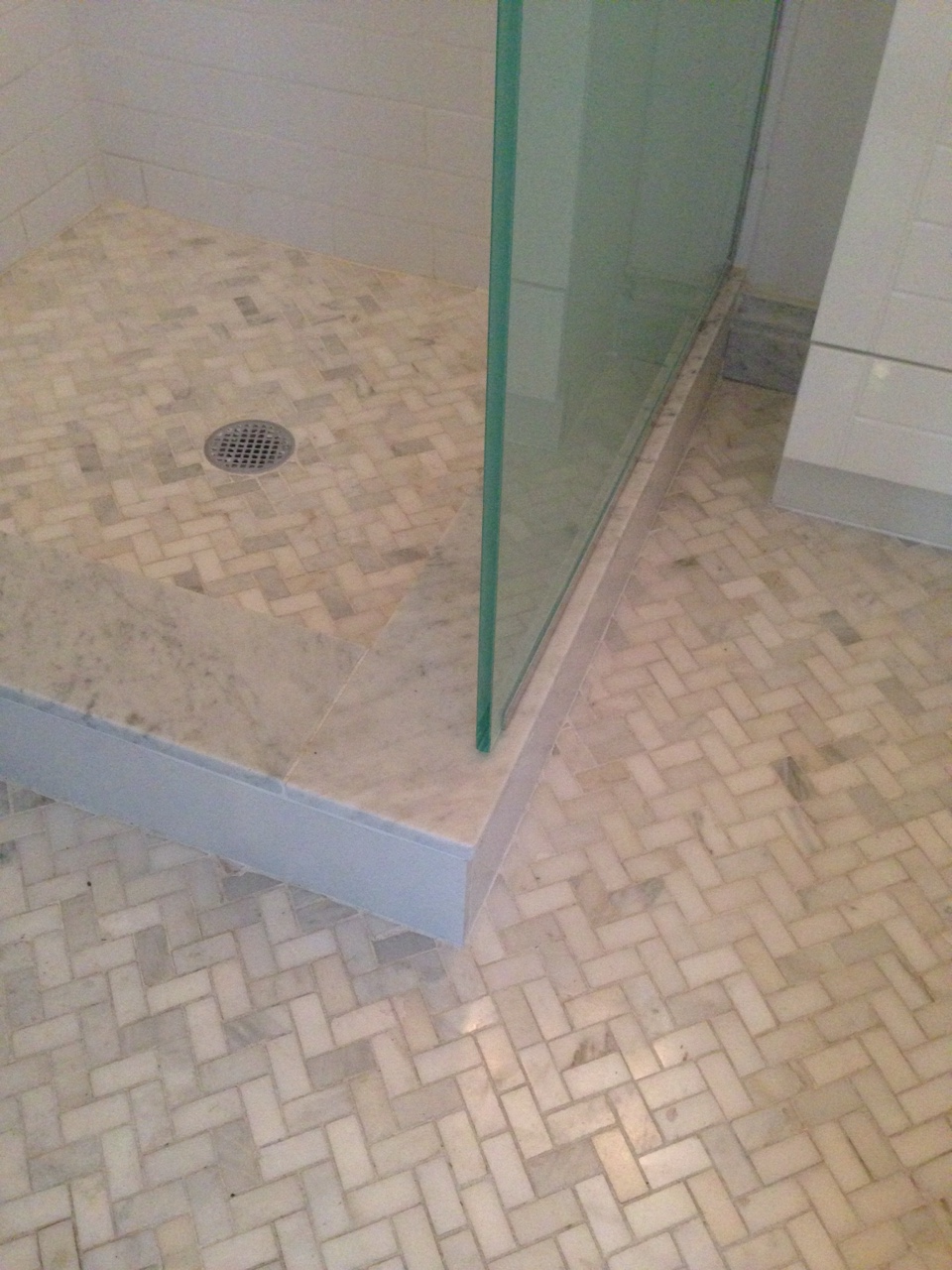That floor and shower tile totally makes me swoon.