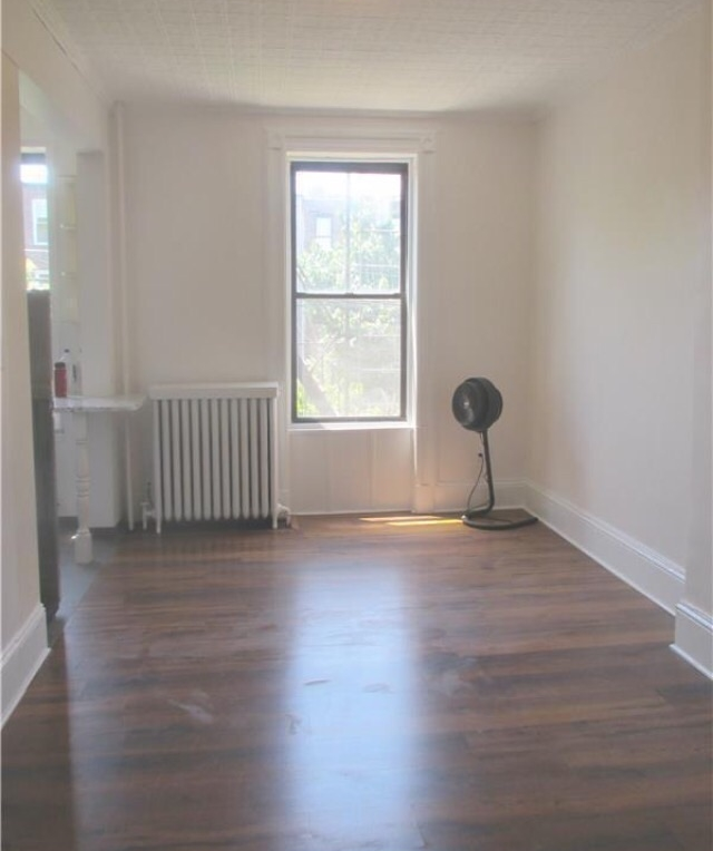 Before shot of our living room.
