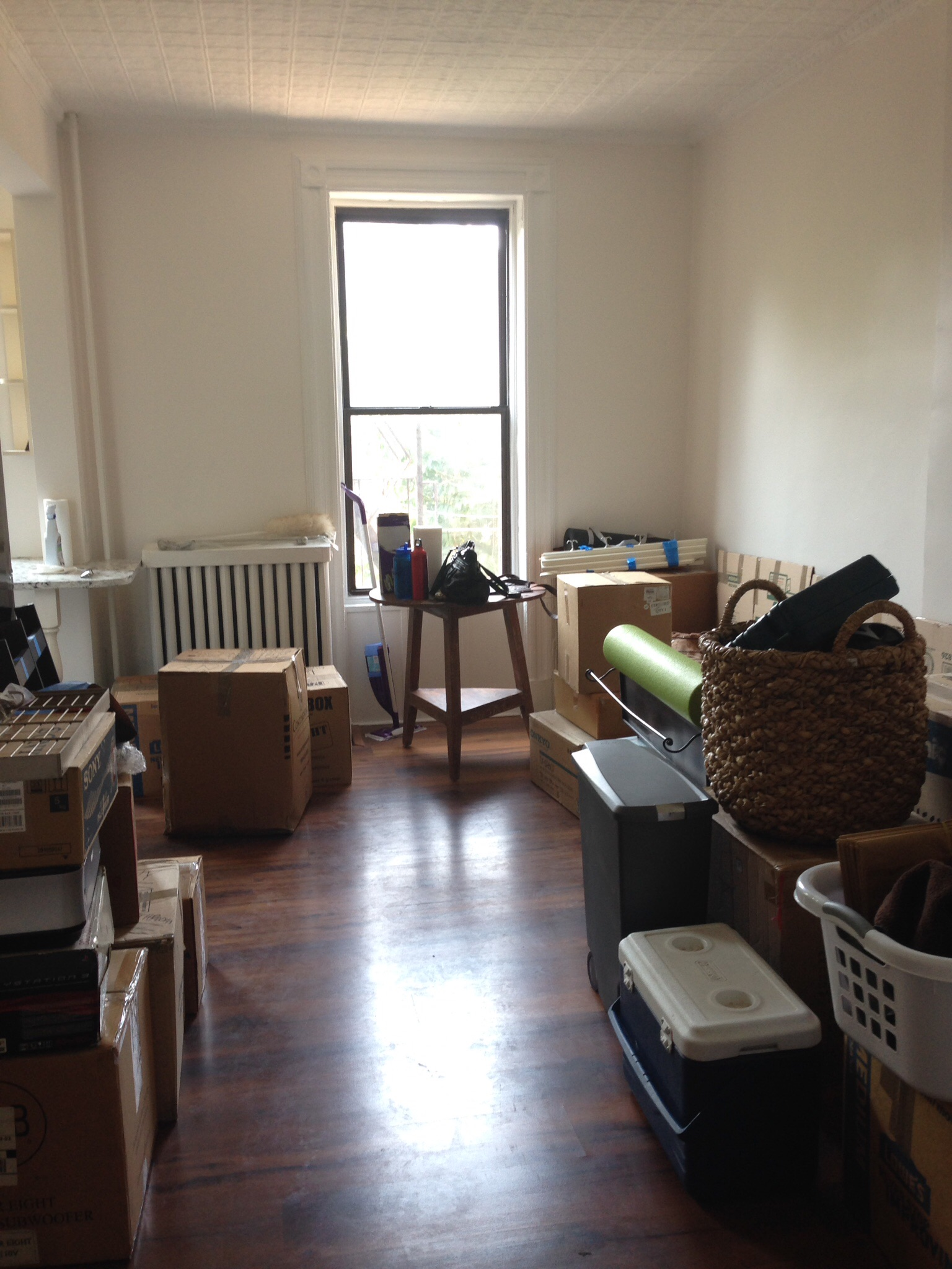 Moving and unpacking are always worse than one remembers.