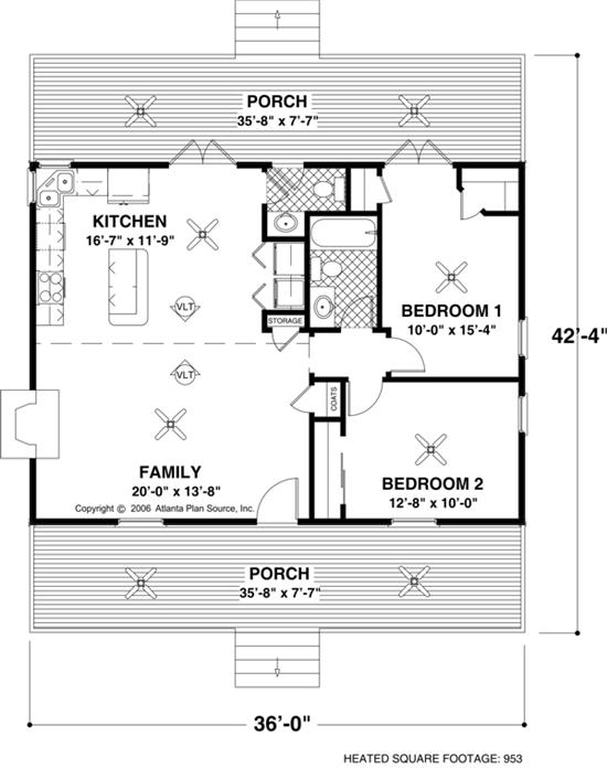 Small House Floor Plan by Top Home Ideas