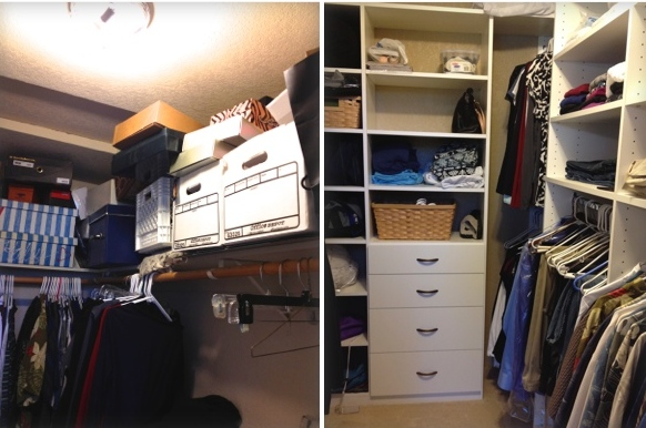Designed and created by RC Cabinets & Closets of Sonoma County