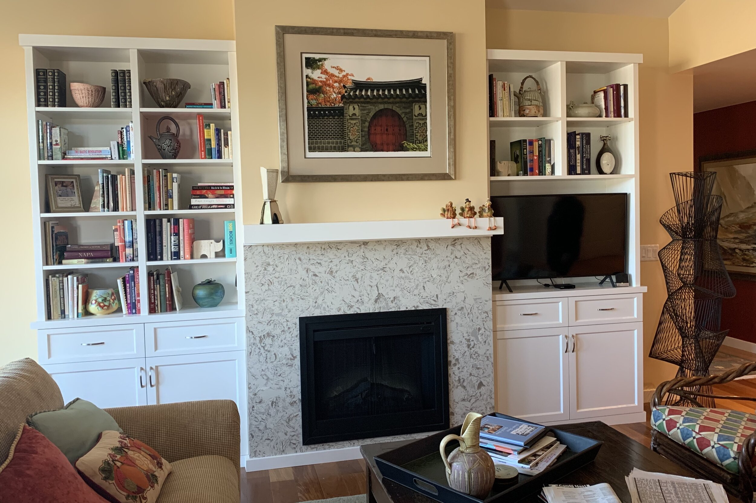 Napa Living Room Cabinet R C Cabinets Closets Sonoma Custom Cabinetry And Closets