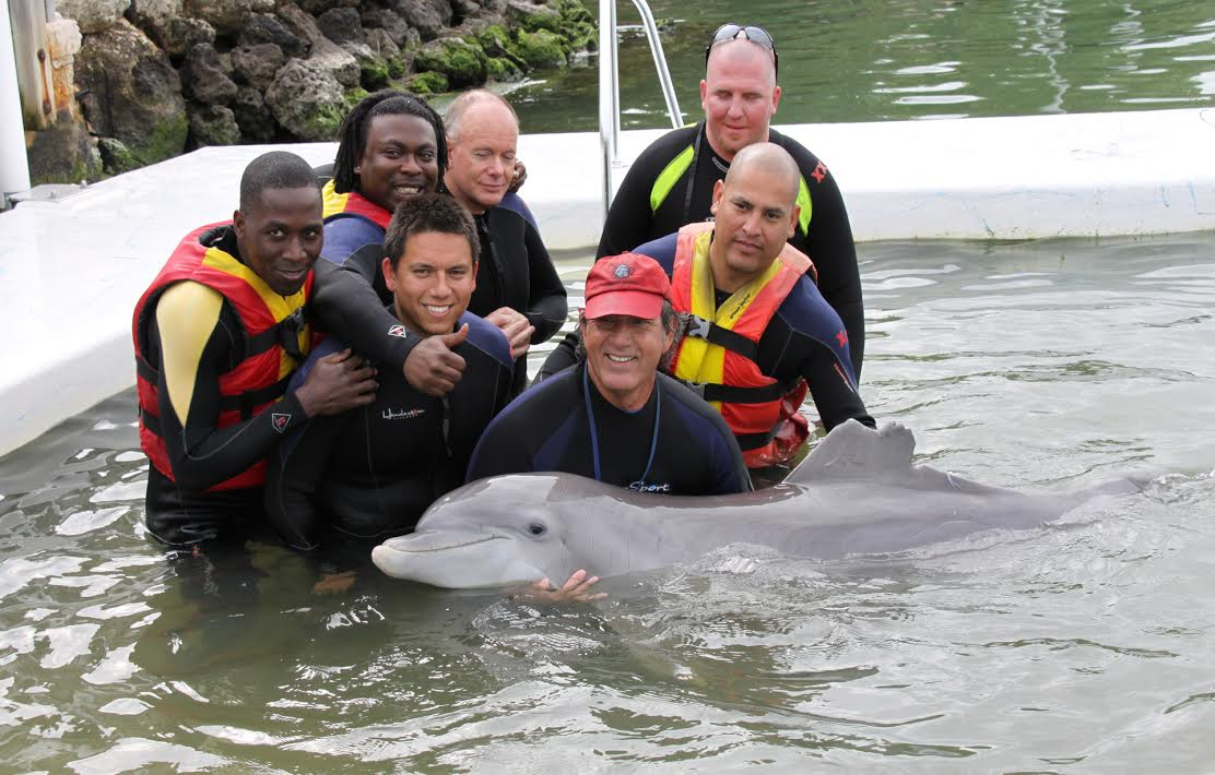 The magnificent team at the Dolphin Research Center