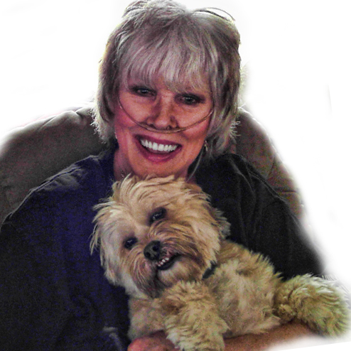 Kathy Tarochione with her Dog, Charlie