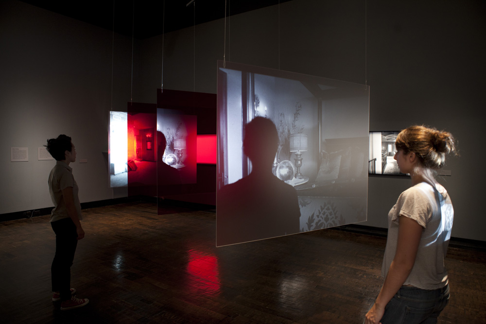 from Projected Histories installation, Frist Center for Visual Art, Nashville, TN   Photographic installation, 2011